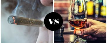Marijuana can help people who are trying to cut back on drinking.