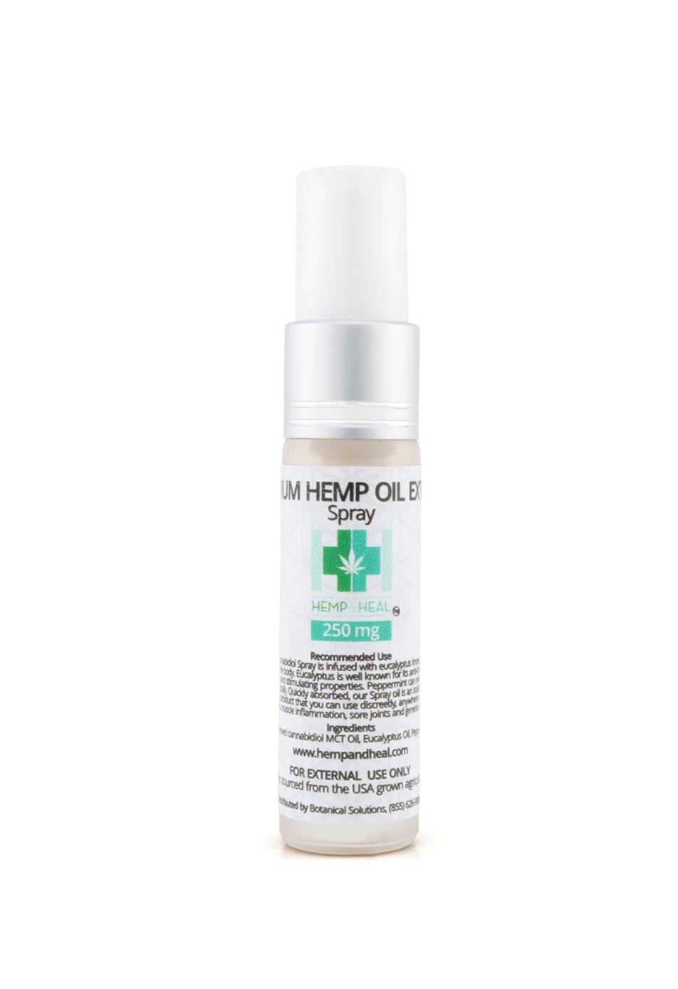 Premium Hemp Oil Extract Topical Spray